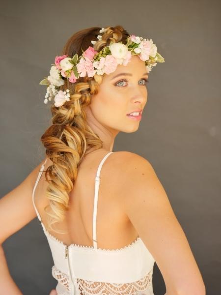 hair i come beautiful bridesmaid