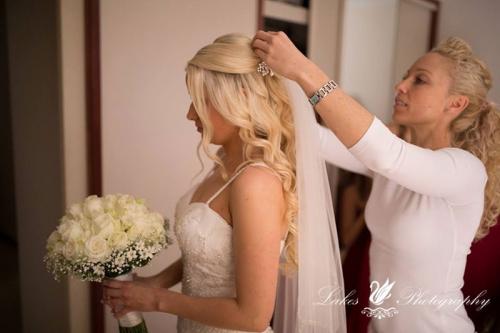 Bride & Bridesmaids hairstyles