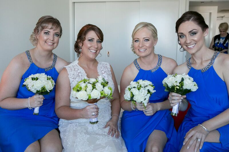 Beautiful Bride Enid & her bridal party!
