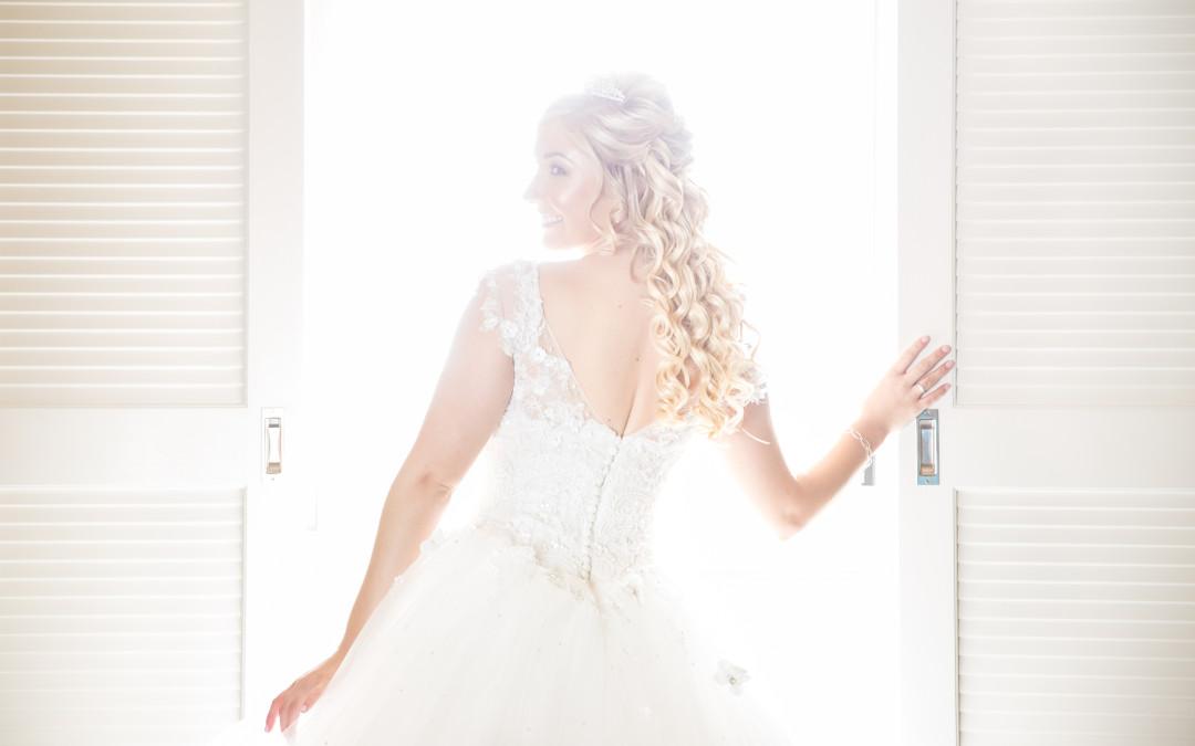 Beautiful Bride Heidi on her Wedding day!