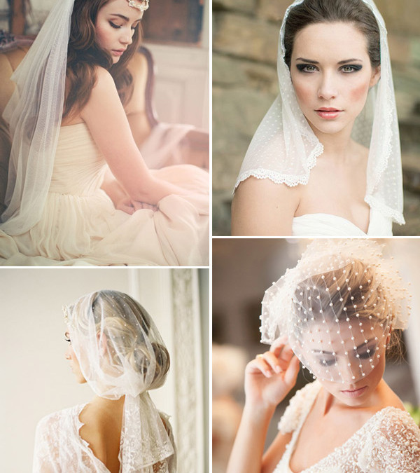 Wedding Veil & Headpiece Ideas For Bridal Hairstyles