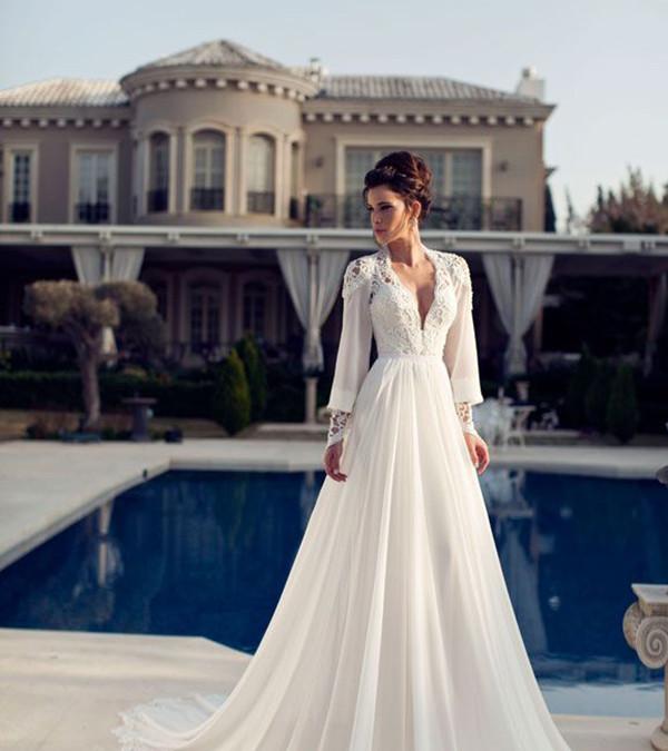 Bridal Gowns for Autumn & Winter Brides