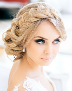 The Top Updo Wedding Hairstyles - Wedding hairstyle upstyle